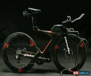Classic 2018 Cervelo P5x Triathlon Bike Medium Carbon SRAM Red eTap ENVE SES Demo Model for Sale