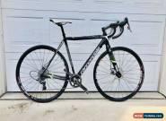Cannondale Carbon Hi-Mod SuperX Cyclocross 52cm Disc Bike + Extra Zipp Wheelset for Sale