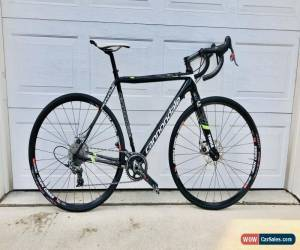 Classic Cannondale Carbon Hi-Mod SuperX Cyclocross 52cm Disc Bike + Extra Zipp Wheelset for Sale