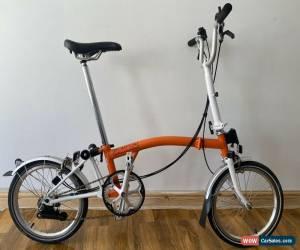 Classic Brompton M6L Folding Bike WORLDWIDE POSTAGE!! for Sale