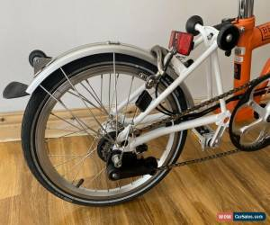 Classic Brompton M6L Folding Bike WORLDWIDE POSTAGE!! for Sale