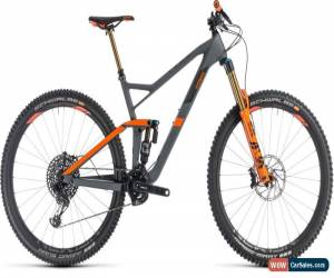 Classic Cube Stereo 150 C:68 TM 29 Mens Mountain Bike 2019 - Grey for Sale