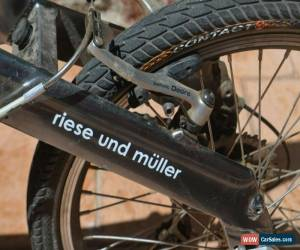 Classic rare German Riese & Muller BD-1 Birdy Low Gravity Folding Bike bicycle for Sale