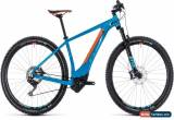 Classic Cube Reaction Hybrid SLT 500 Mens Electric Mountain Bike 2018 - Blue for Sale