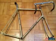 Bertin Track Bike Frame Fork Reynolds 531 Campagnolo Milremo Pantographed Fixed for Sale