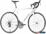 USED 2008 Scott Addict R4 Large/56cm Carbon Road Bike Ultegra White 16 lbs for Sale